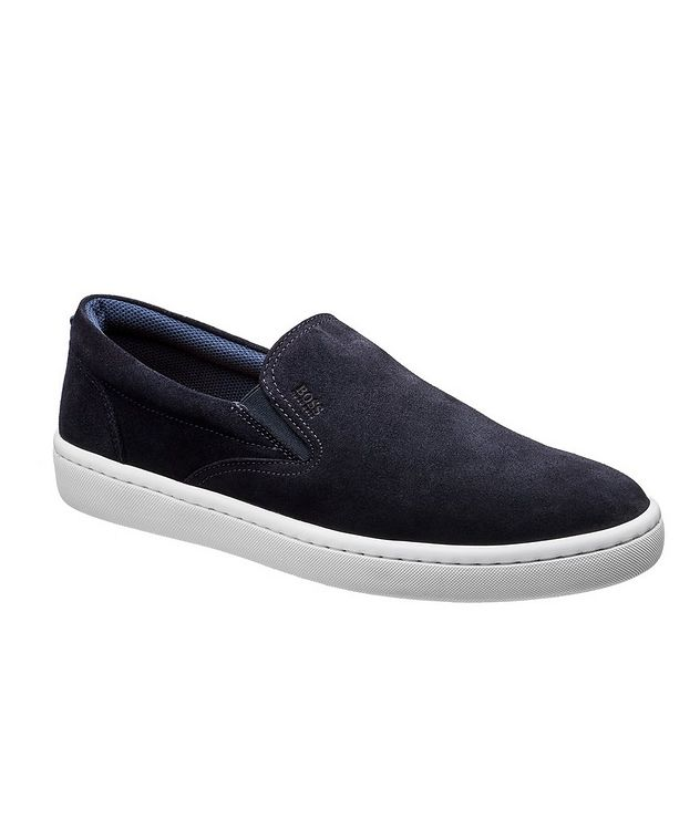 Ribeira Suede Slip-On Sneakers picture 1