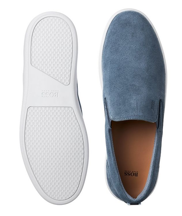Ribeira Suede Slip-On Sneakers picture 3