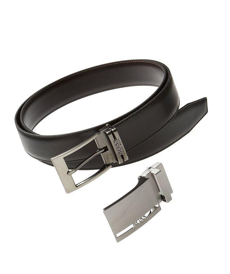 Galliz Reversible Leather Belt Set image 0