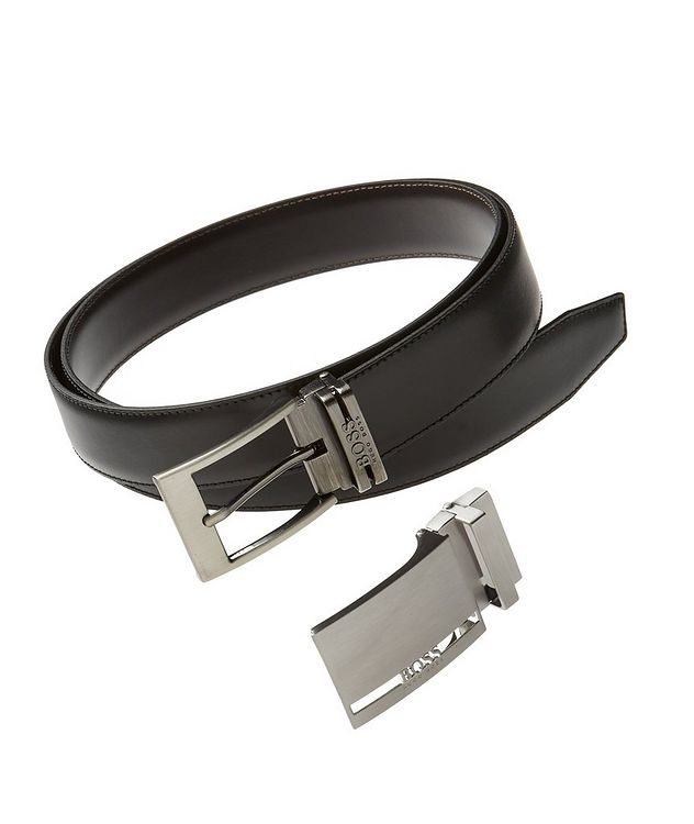 Galliz Reversible Leather Belt Set picture 1