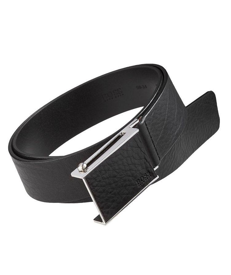 Semmy Textured Leather Belt image 0