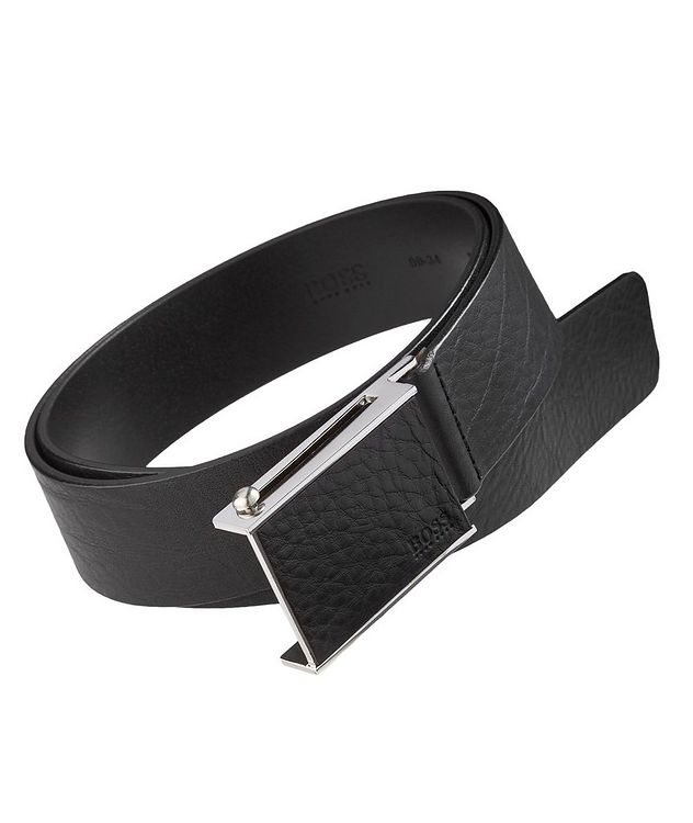 Semmy Textured Leather Belt picture 1