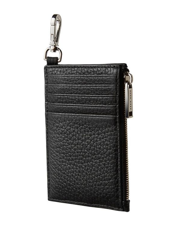 Leather Zip-Around Card Holder picture 2