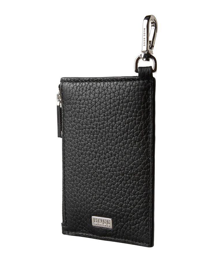 Leather Zip-Around Card Holder image 0