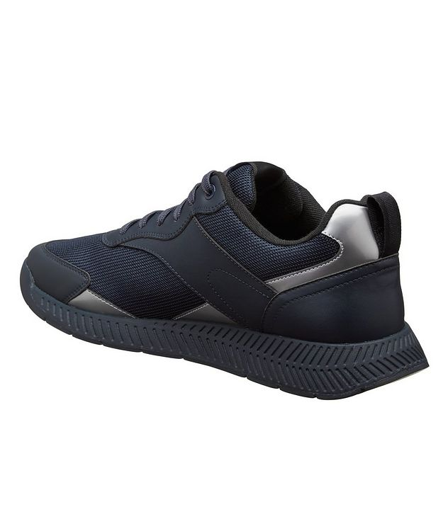 Panelled Low-Top Sneakers picture 2