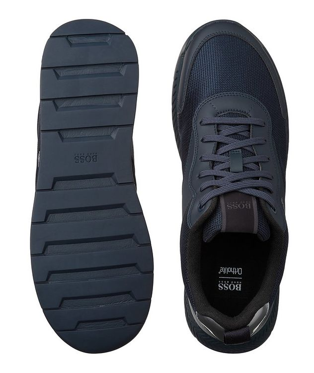 Panelled Low-Top Sneakers picture 3