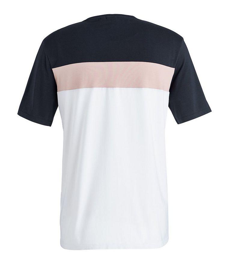 Balance Colour-Blocked Cotton-Blend T-Shirt image 1