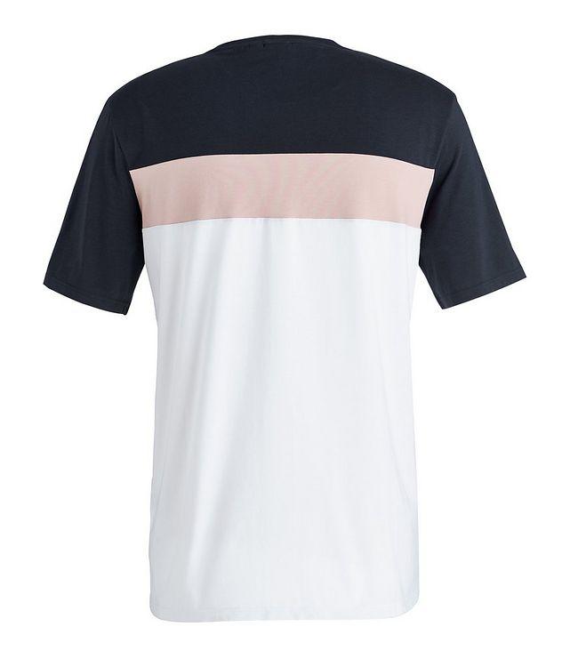 Balance Colour-Blocked Cotton-Blend T-Shirt picture 2