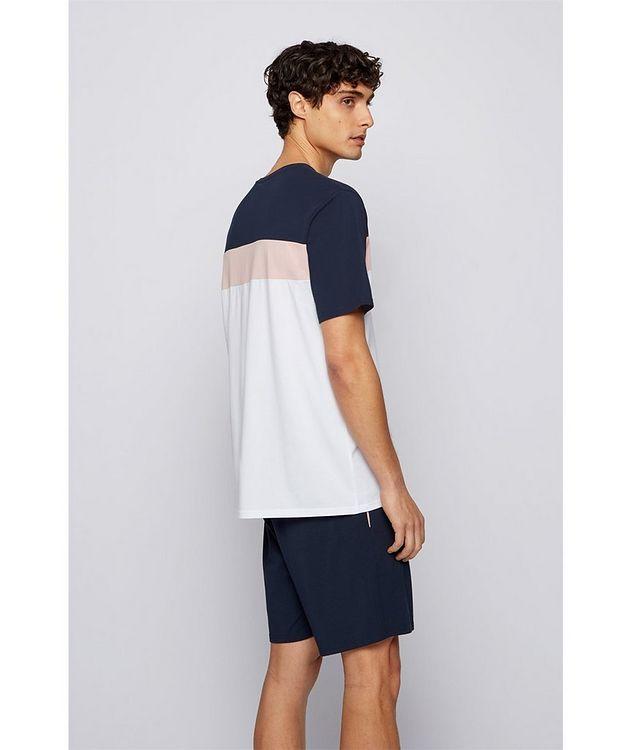 Balance Colour-Blocked Cotton-Blend T-Shirt picture 3