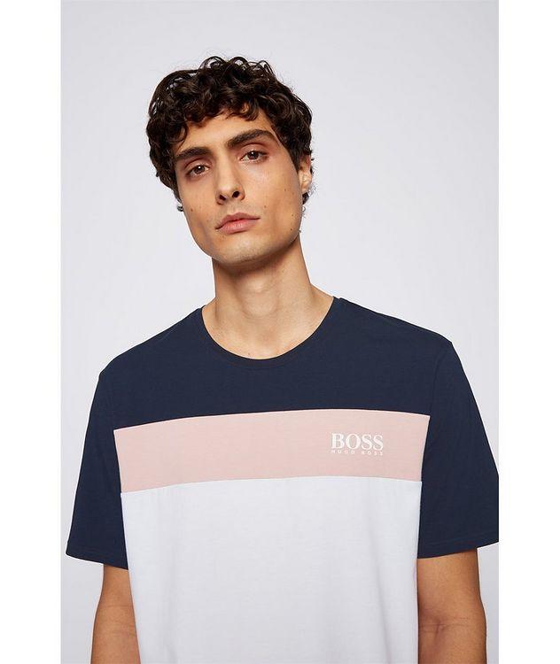 Balance Colour-Blocked Cotton-Blend T-Shirt picture 5