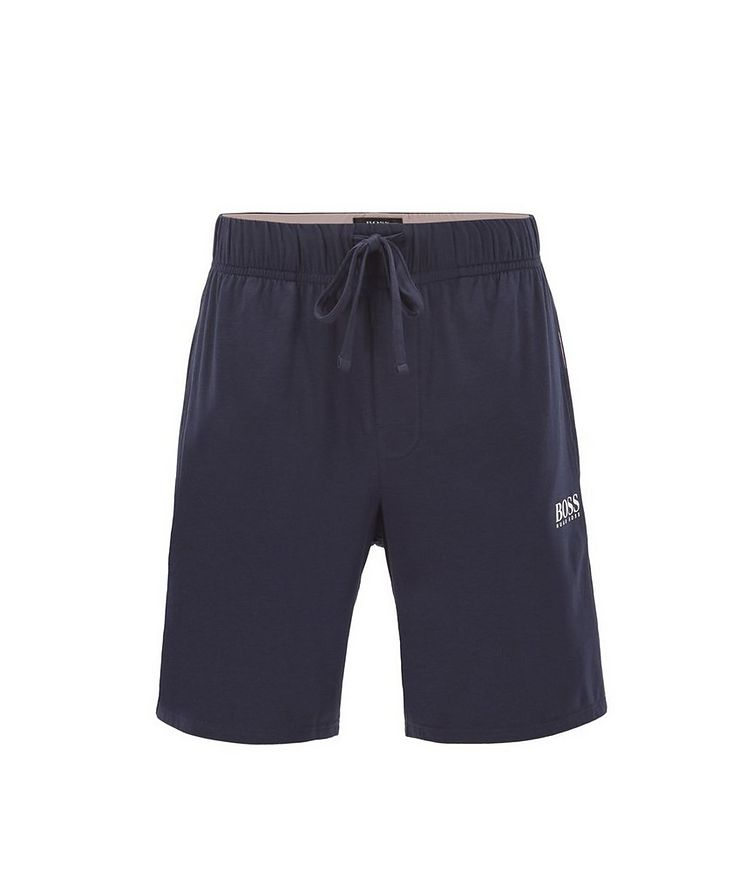 Balance Cotton-Blend Shorts image 0