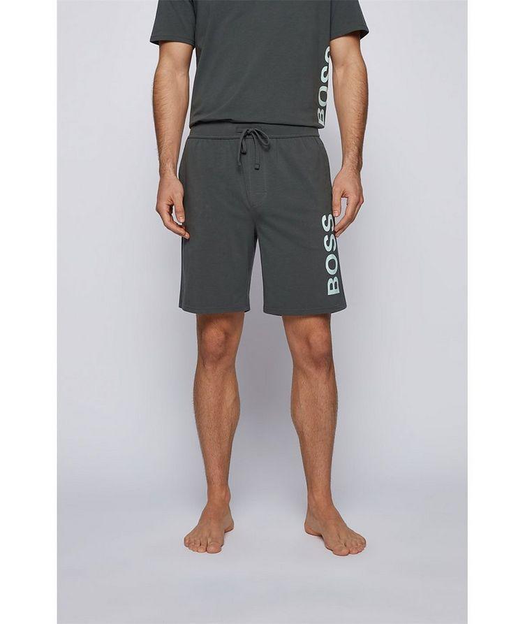 Identity Stretch-Cotton Shorts image 1