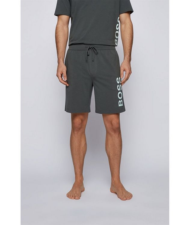 Identity Stretch-Cotton Shorts picture 2