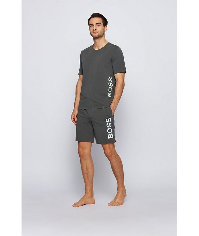 Identity Stretch-Cotton Shorts picture 4