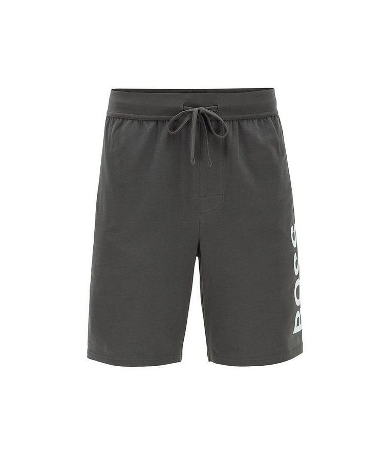Identity Stretch-Cotton Shorts image 0