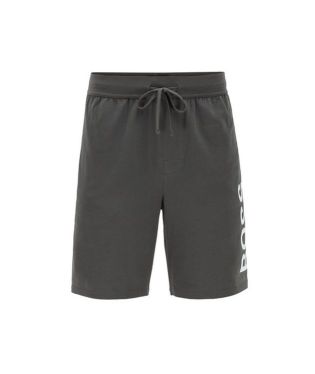 Identity Stretch-Cotton Shorts picture 1
