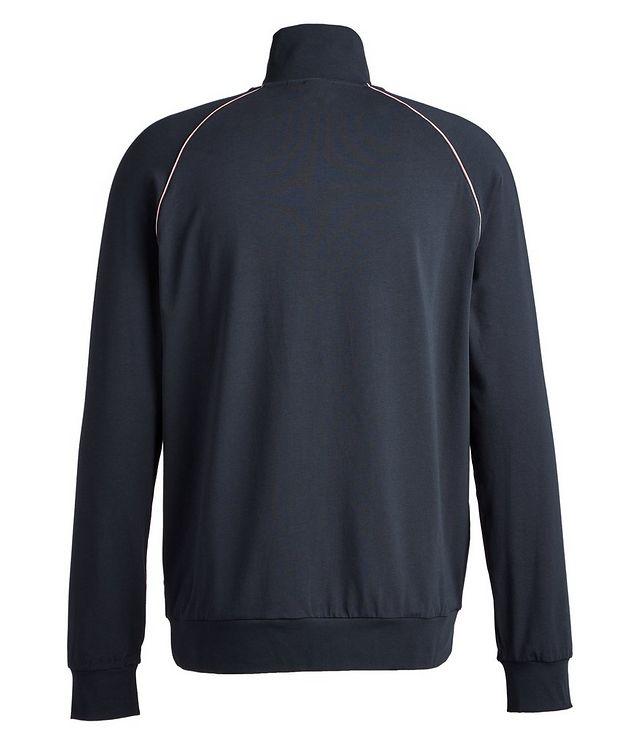 Mix & Match Zip-Up Stretch-Cotton Sweatshirt picture 2