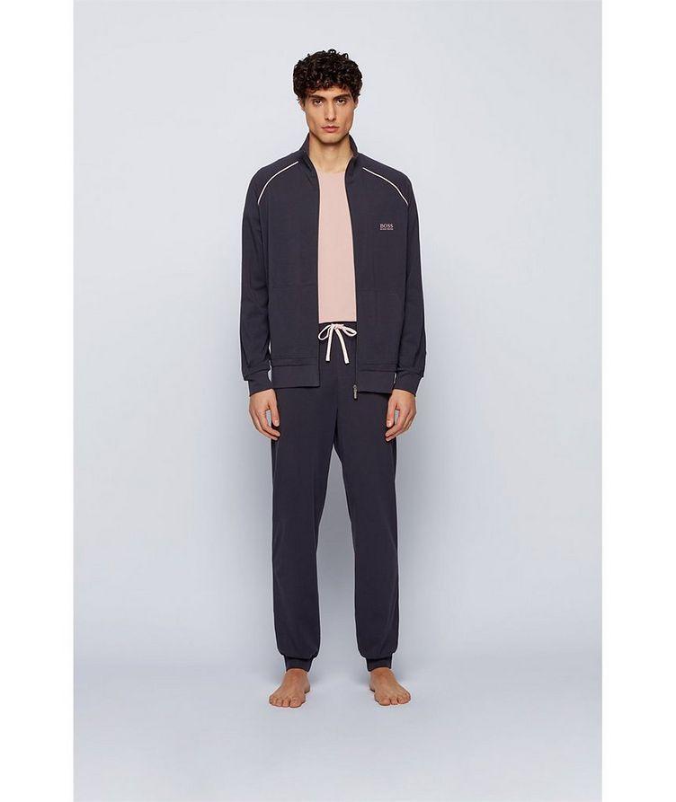 Mix & Match Zip-Up Stretch-Cotton Sweatshirt image 3