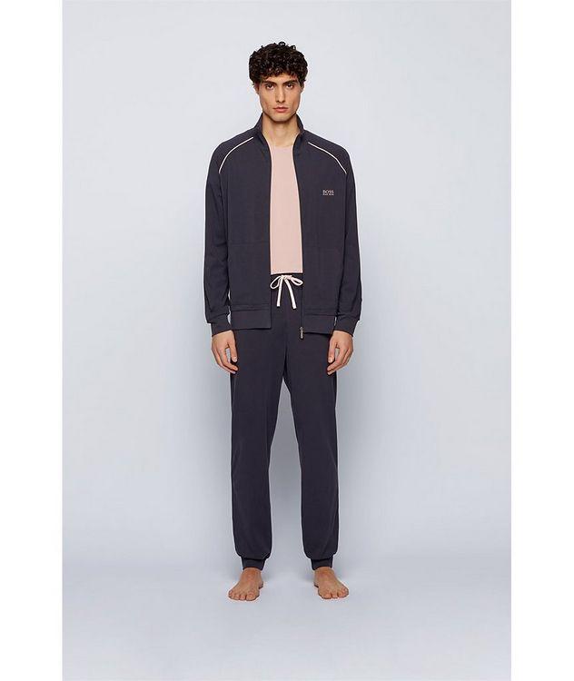 Mix & Match Zip-Up Stretch-Cotton Sweatshirt picture 4