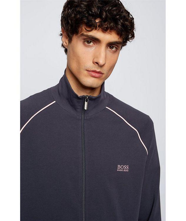 Mix & Match Zip-Up Stretch-Cotton Sweatshirt picture 5