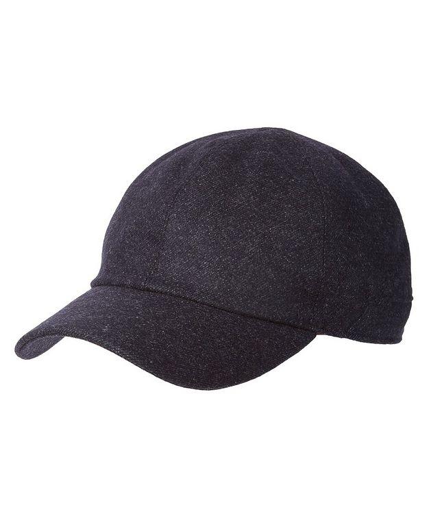 Waterproof Wool-Cashmere Baseball Cap picture 1