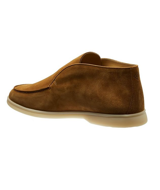 Open Walk Suede Boots  picture 2