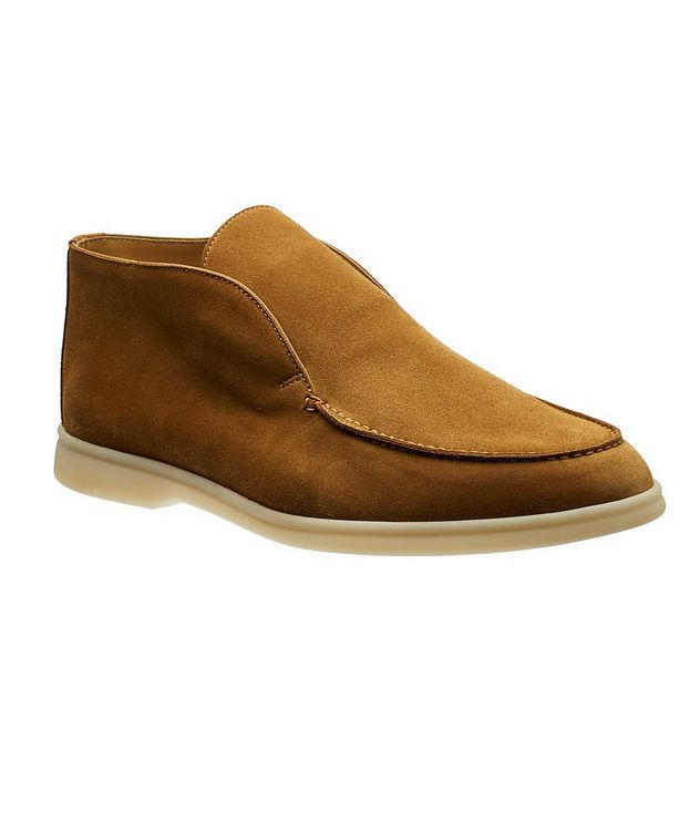 Open Walk Suede Boots  picture 1
