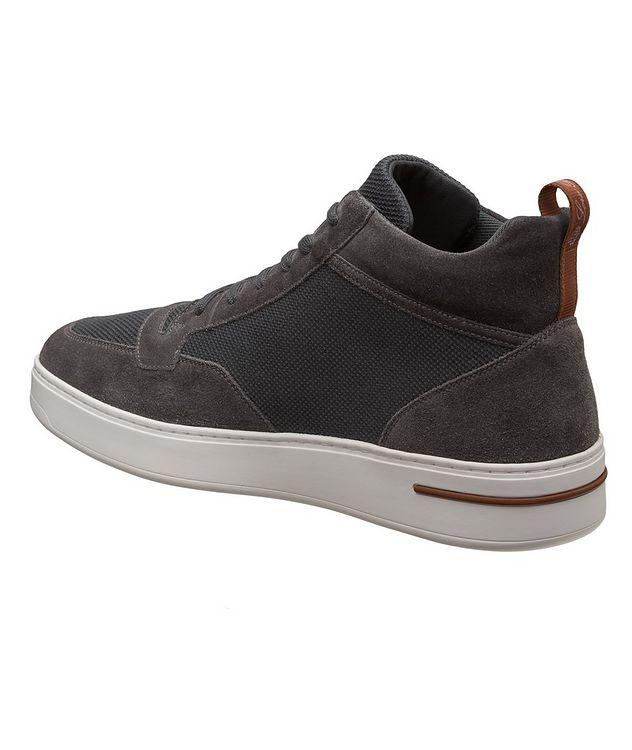 Newport Walk Suede-Wool Sneakers picture 2