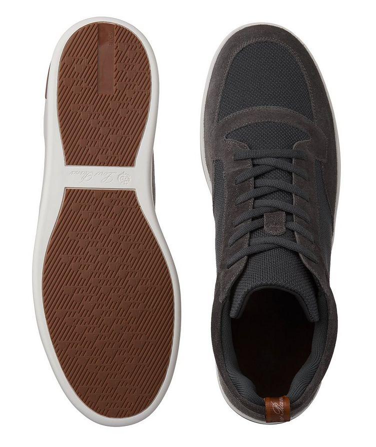 Newport Walk Suede-Wool Sneakers image 2