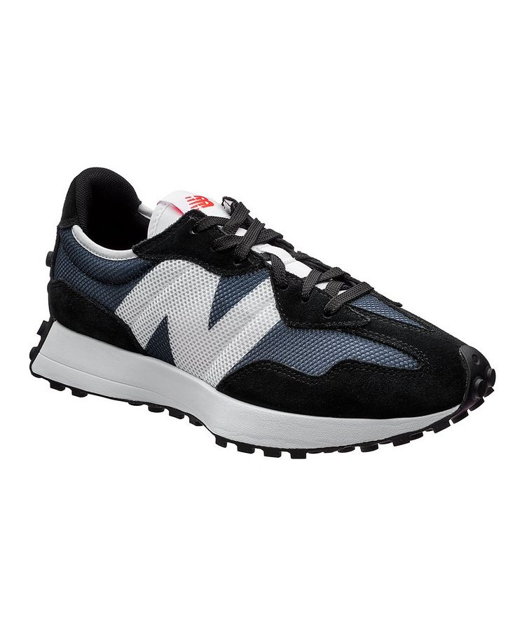 327 Suede, Nylon, And Mesh Sneakers image 0