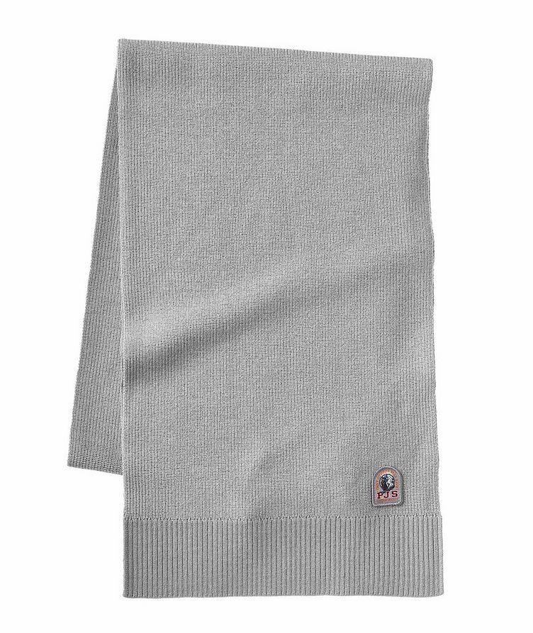 Ribbed Merino Wool-Blend Scarf image 0