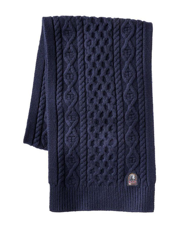 Aran Wool-Blend Scarf image 0
