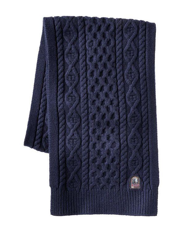 Aran Wool-Blend Scarf picture 1