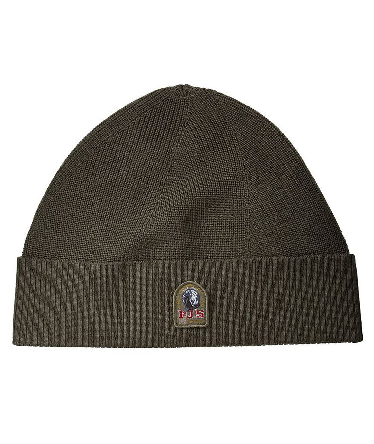 Ribbed Knit Wool-Blend Toque image 0