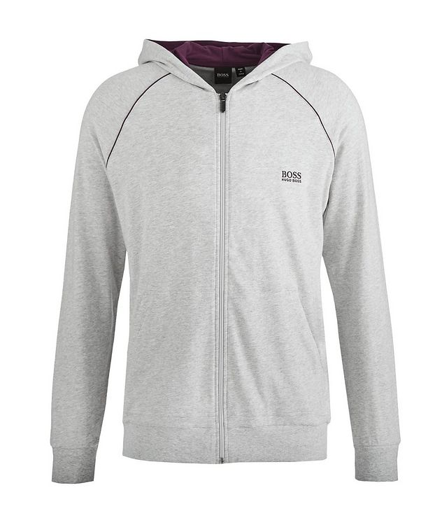 Zip-Up Cotton Sweatshirt  picture 1