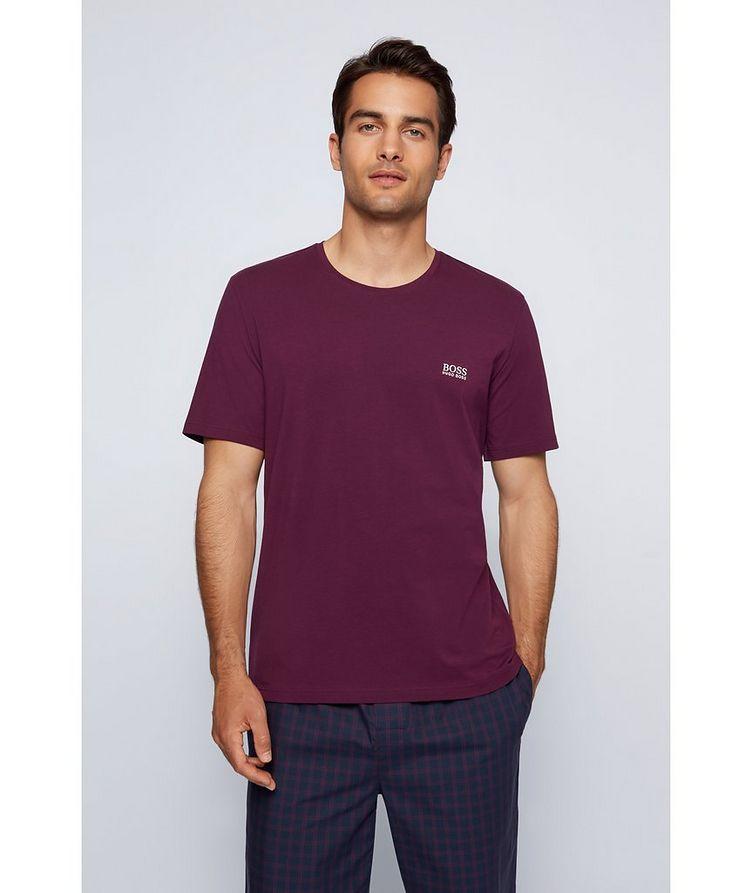 Logo Stretch-Cotton Loungewear T-Shirt image 1