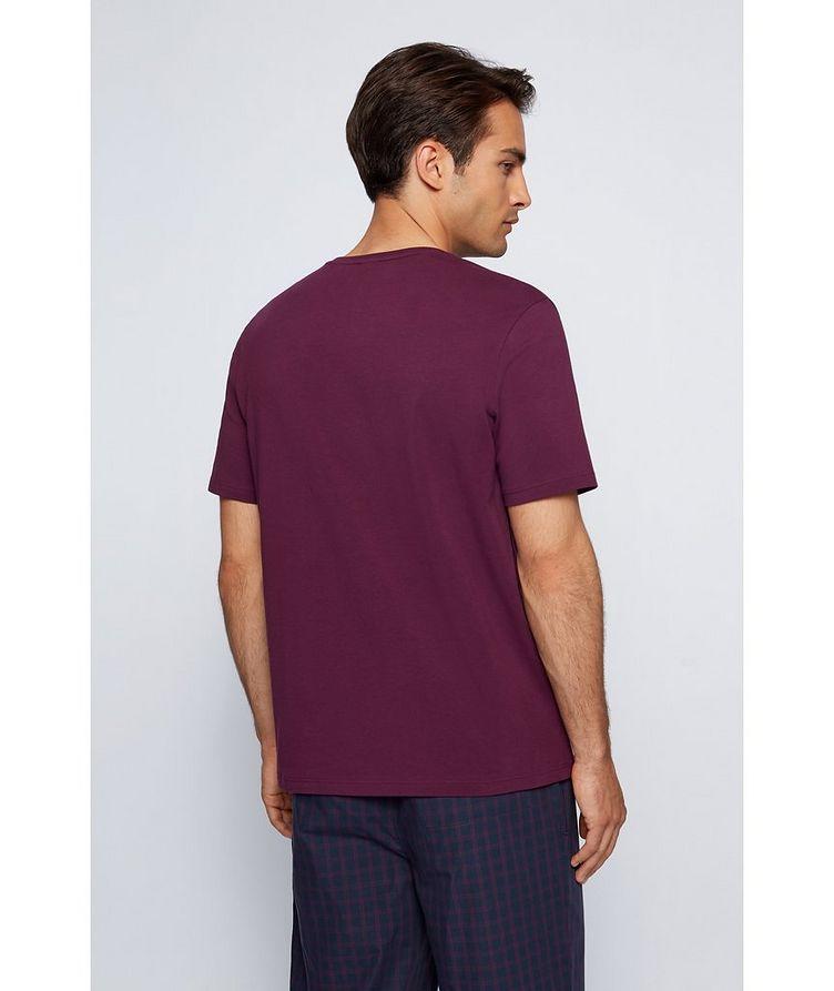 Logo Stretch-Cotton Loungewear T-Shirt image 2