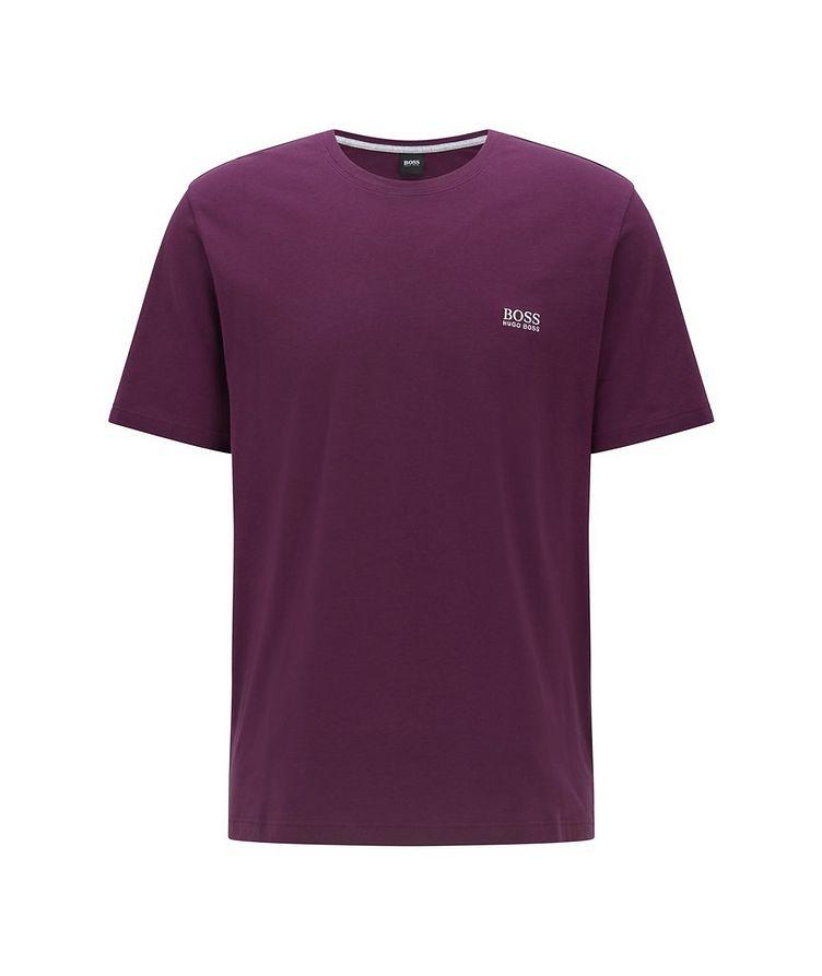 Logo Stretch-Cotton Loungewear T-Shirt image 0