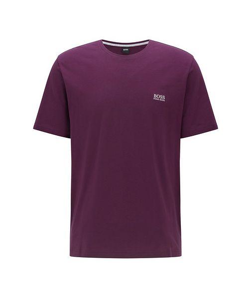 BOSS Logo Stretch-Cotton Loungewear T-Shirt
