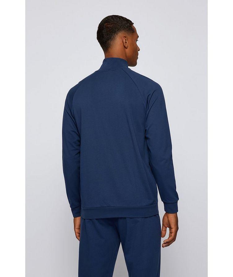 Zip-Up Cotton Sweatshirt  image 2