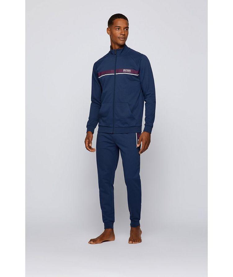 Zip-Up Cotton Sweatshirt  image 4