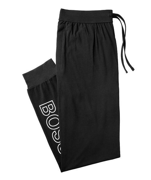BOSS Logo Stretch-Cotton Joggers