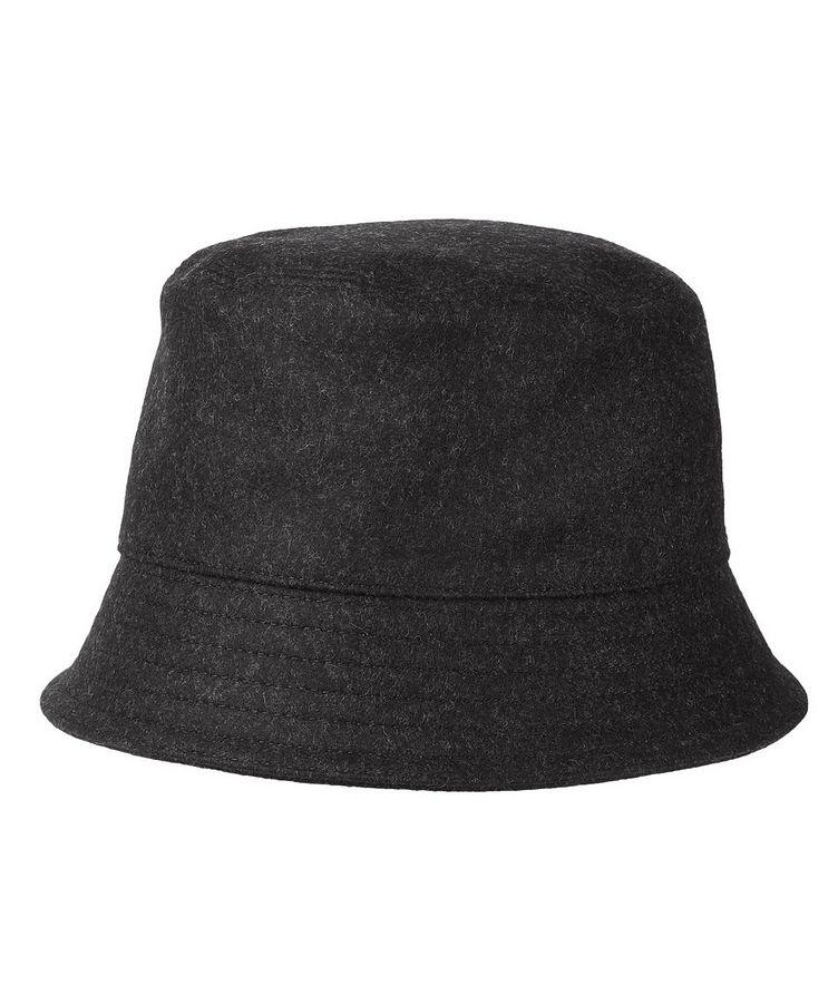 Logo Wool Bucket Hat image 1