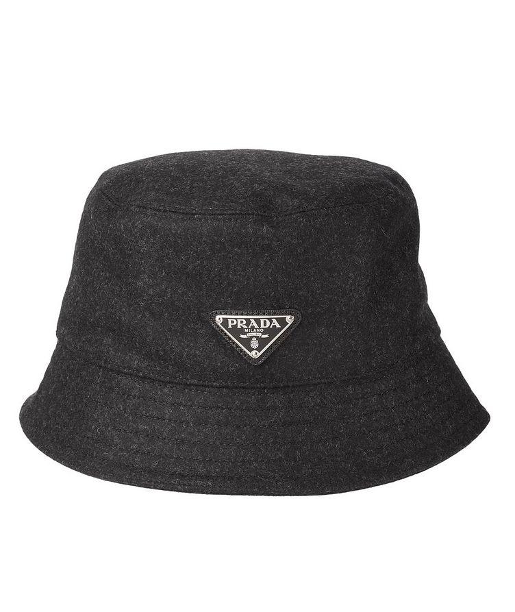 Logo Wool Bucket Hat image 0