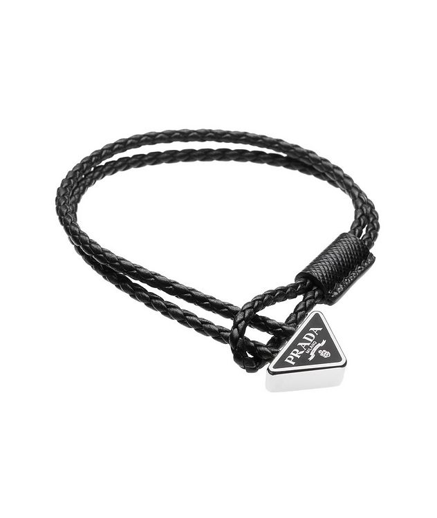 Braided Nappa Leather Bracelet picture 1