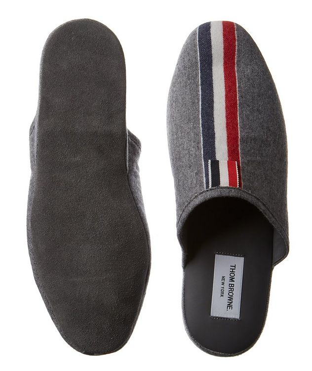 Boiled Wool Slippers picture 3