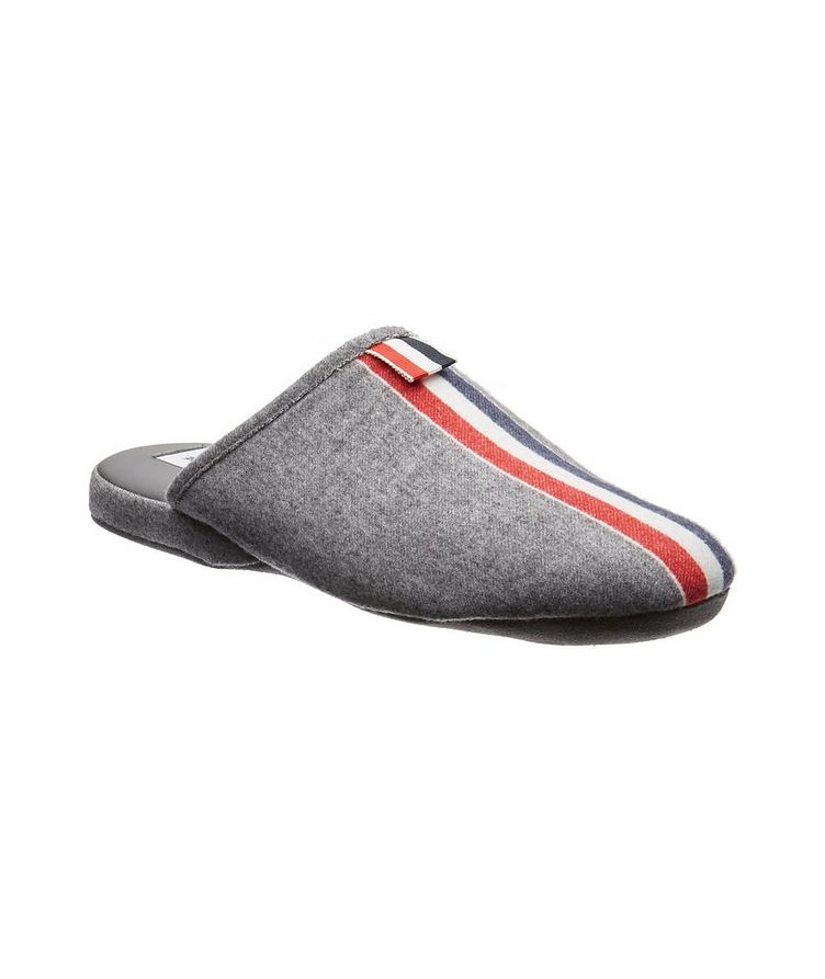 Boiled Wool Slippers image 0