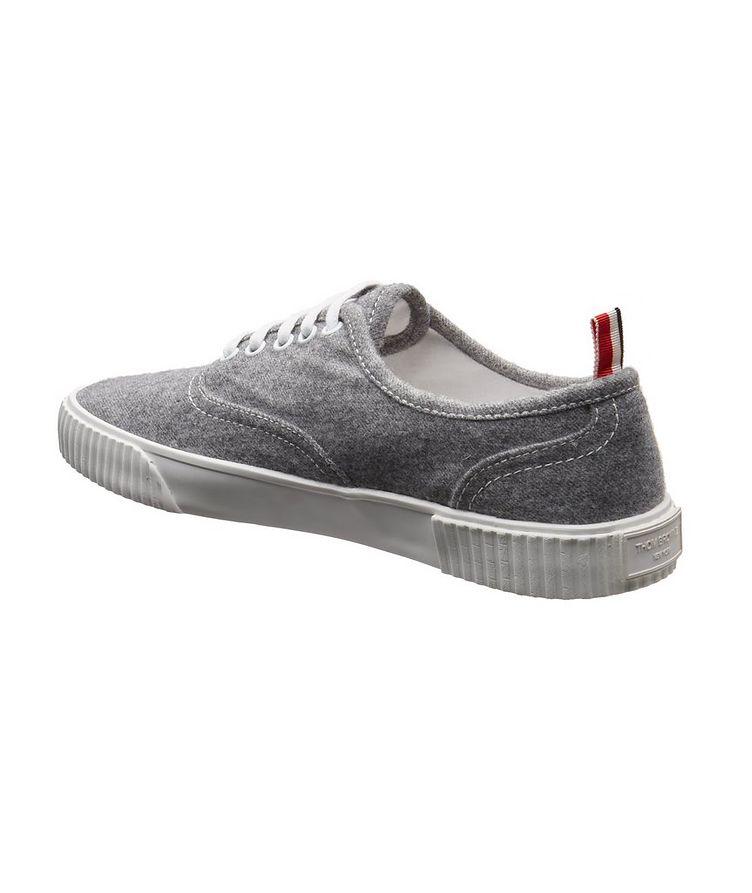 Heritage Boiled Wool Sneakers image 1