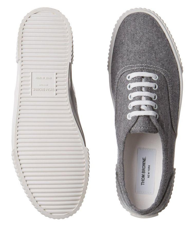 Heritage Boiled Wool Sneakers image 2