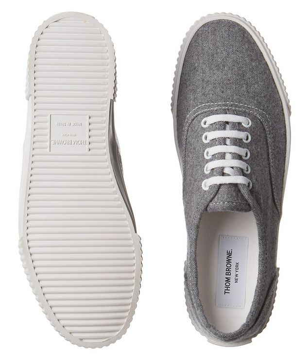 Heritage Boiled Wool Sneakers picture 3